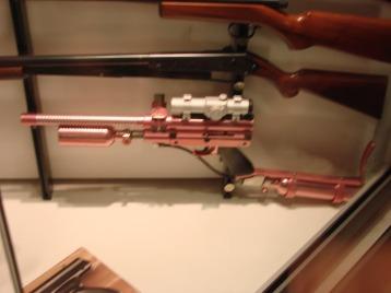 Pink rifle