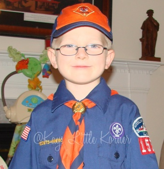 My Scout in MD, 2012
