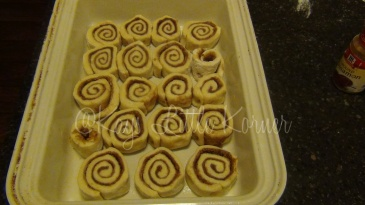 cinnamon rolls to rise