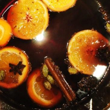 Glühwein-Zubereitung