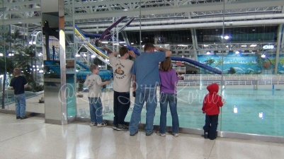 Water park at Edmonton Mall