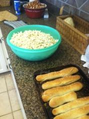 White cheddar popcorn.