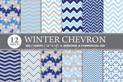 Winter Chevron