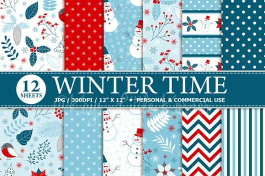Winter Time Paper