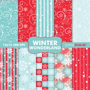Winter Wonderland Paper