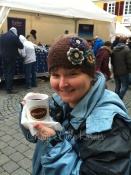 My first gluhwein