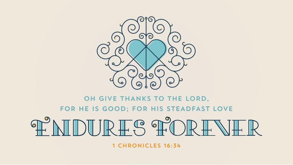 1 Chronicles 16:34 [widescreen]