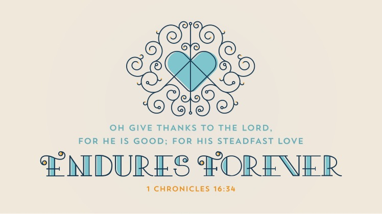 1 Chronicles 16:34 [widescreen]